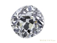 GIA 1.85 CT Old Mine Cut Solitaire Ring Sold at Auction for $3,874
