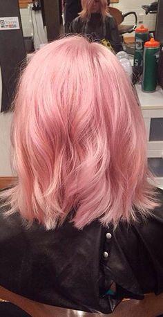 Pink lob