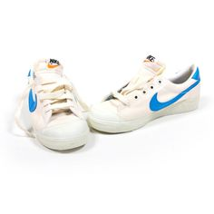 on sale 30828 9ceb5 Nike tennis shoes. We had to have the ones with the light blue swoosh when
