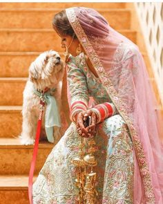 Looking for a wedding attire for your furry pal to walk down the aisle? Here are some dog outfit ideas for your Indian wedding. Indian Wedding Poses, Big Fat Indian Wedding, Indian Wedding Photography, Wedding Photos, Indian Weddings, Outdoor Photography, Indian Bridal, Bridal Poses, Bridal Photoshoot