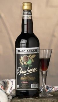 Orahovac Liqueur - Maraska is a delicious fruit liqueur produced from green walnuts. It is a delicious beverage with a slightly bitter flavour.