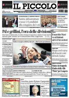 Il Piccolo Trieste - Gorizia - 05.04.2013