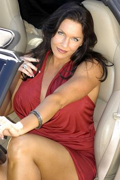 Beauty milf and fotograph