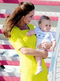 Kate Middleton and Prince William // The Duke and Duchess of Cambridge // Prince George