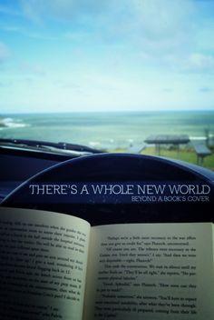 Books are like mini-vacations.