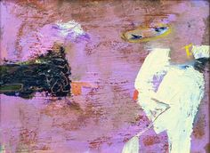 """Saatchi Art Artist Gabriel Prundeanu; Painting, """"SOLD Abstract painting in purple by Gabriel Prundeanu"""" #art"""
