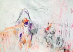 "Saatchi Art Artist Sylvia C Sosnovska Artist; Drawing, ""The Place"" #art"