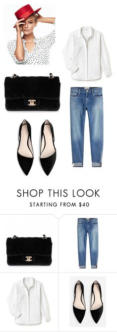 """italianstyle"" by linamakovskaya on Polyvore featuring мода, Chanel, Frame, Lacoste и MANGO"