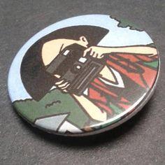 1 Inch D Pin Button Badges 5x Beavis and Butt-Head TV Series 25mm
