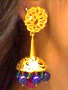zumkha (chandeliar)with lapiz &green onyx....