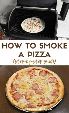 I love smoked ribs salmon pork veggies and more. I love the tenderness and flavor that a smoker creates in food. Recently I decided to try smoking a pizza the results were delicious. Directions on how to smoke a Papa Murphy's Pizza. Smoker Grill Recipes, Smoker Cooking, Grilling Recipes, Meat Recipes, Recipes Dinner, Yummy Recipes, Green Mountain, Smoked Pizza, Grilled Pizza Recipes