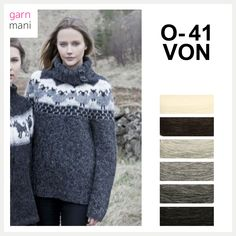 O-41 VON - Garnmani.no - Spesialist på islandsk garn Spring Outfits, Winter Outfits, Knitted Capelet, Handgestrickte Pullover, Wool Cape, Knit Wrap, Hand Knitted Sweaters, Hand Knitting, Gifts For Her