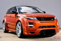 Range Rover Evoque Vesuvius Orange от Ultimate Auto - тюнинг