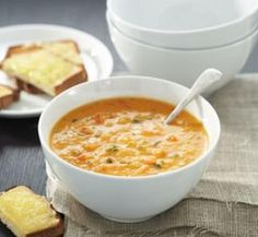 Roasted vegetable soup   Healthy Food Guide