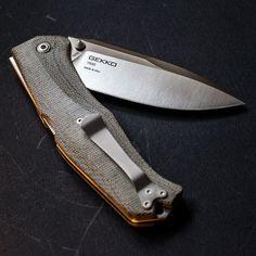 Steel Will Gekko 1500 EDC Folding Knife Blade - Everyday Carry Gear