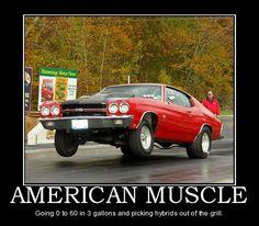 Oh Yea, American Muscle Rocks