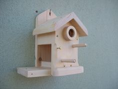 Nidales/casitas pájaros - cajas nido (pajaros) - hecho a mano por regaladistinto en DaWanda