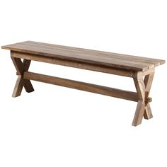 Bring international flair to your deck or any area with this beautiful handcrafted teak bench. Handmade by artisans in northwestern India, this bench has a natural wood finish with a neutral tone that will fit in with any home's color scheme.