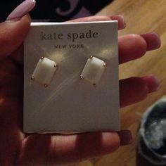 Kate spade earrings Authentic never worn kate spade Jewelry Earrings