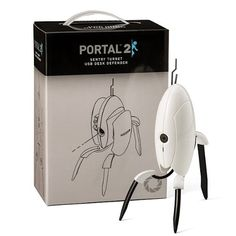 Portal 2 Turret – Motion Activated Talking Desk Sentry. Fantastic!