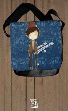 TARDIS Doctor Who  shoulder bag by FeerieDoll on Etsy, $30.00