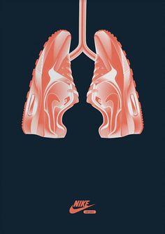 Publicidad que no necesita palabras. #ad #Nike #creativity
