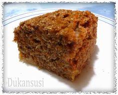 Recetas Dukan - Dukansusi: Bizcocho de zanahoria Dukan