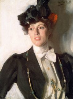 Martha Dana, later Mrs. William R. Mercer (Anders Zorn - 1899) Museum of Fine Arts - Boston