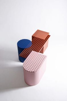 Urban Shapes - Inspired by the materials in constructions sites, Urban Shapes is a modular bench created by Belgian design office nortstudio. The bench itself is . Urban Furniture, Street Furniture, Small Furniture, Colorful Furniture, Cheap Furniture, Furniture Design, Yard Furniture, Geometric Furniture, Studio Furniture