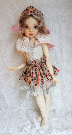 Cute outfitt for Kaye Wiggs MSD,Talyssa, Liz Maddie and similar size doll