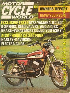 1973 Yamaha RD-350 Road Test / Specs – 6 speeds, reed valves, disc brake -what more could you ask?