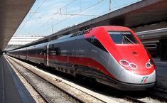 Os trens mais rápidos e velozes do mundo - ETR Frecciarossa
