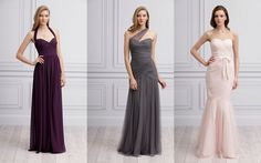 These floor length gowns are AMAZING!! Monique Lhuillier is a genius!