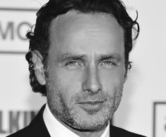 Andrew Lincoln arrives at the premiere of AMC's, 'The Walking Dead' Season. Rick Grimes Walking Dead, The Walking Dead, Andy Lincoln, Stuff And Thangs, Handsome Actors, Black And White Pictures, Coming Home, Future Husband, Movie Stars