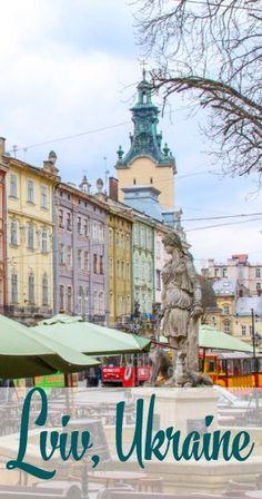 Lviv, Ukraine // Heart My Backpack