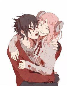 Sasuke and Sakura Uchiha Zombies Haha ❤️❤️❤️