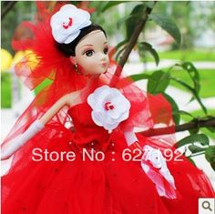 Aliexpress.com : Buy 9048 Noble Wedding Kurhn Doll Rainbow Big Red High Quality Chinese Doll For Girl on TINA Toys. $43.00