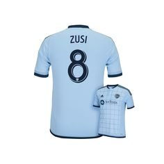 bfc27ed907e Men s adidas Sporting Kansas City Graham Zusi Jersey