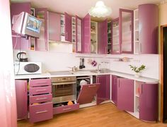 small purple kitchen cabinets images | kitchen design ideas | all