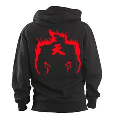 Akuma Raging Demon Hoodie, Tekken, Streetfighter, Geek Gift, Geek Hoodie, Cosplay, Video Game, Fighting, Martial Arts, Geekery, Gaming by IWGCustoms on Etsy