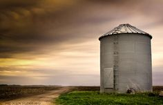 Grain Bin in Eastern Burt County Nebraska...To interact with me, please follow me on Facebook by selecting this link and liking our page....http://www.facebook.com/jakeolsonstudios