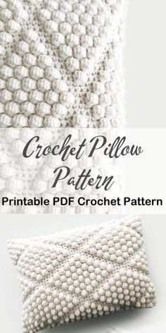 Crochet Pillow Pattern, Knit Pillow, Crochet Cushions, Crochet Stitches, Diy Crochet Pillow, Crochet Cushion Cover, Pillow Patterns, Knitting Projects, Crochet Projects