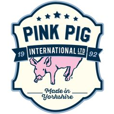 2016 Brand identity for Pink Pig International Ltd. This logo will stand through our 25 year of rich British manufacturing heritage. Pink Pig Sketchbook, Book Crafts, Arts And Crafts, Drawing Exercises, Collagraph, How To Become, How To Make, French Artists, School Days