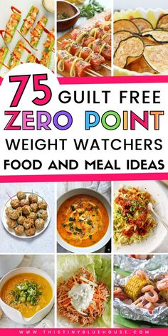 75 MUST TRY Zero Point Weight Watchers Food and recipe ideas that are sure to make sticking to your diet an absolute breeze. Weight Watchers Lunches, Weight Watchers Desserts, Ww Recipes, Dinner Recipes, Healthy Recipes, Detox Recipes, Cream Recipes, Healthy Desserts, Dinner Ideas