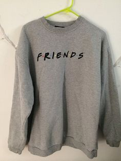 Parade your love for Monica, Joey, Ross, Chandler, Phoebe and Rachel in this rare FRIENDS sweatshirt!  Tagged size: large Ask for measurements