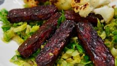Air-Fried BBQ Tempeh Plant Based Recipes, Veggie Recipes, Whole Food Recipes, Vegetarian Recipes, Snack Recipes, Cooking Recipes, Veggie Meals, Snacks