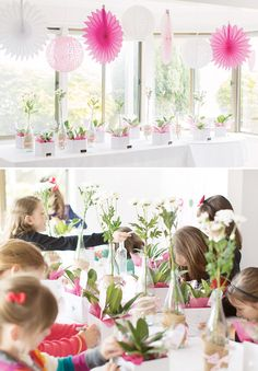 kids-flower-decorating-party-activity