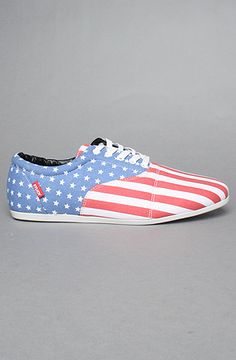 The Drop Sneaker in Flag Print by Study - Use repcode SMARTCANUCKS for 10% off your order on #PLNDR