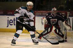 Worcester Sharks rookie forward Rylan Schwartz (March 21, 2014).