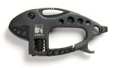 Columbia River Knife and Tool 9075K 2-1/9-Inch Multi-Tool Lil Guppie Knife, Black The adjustable wrench jaw opens to 10 mmYou can carry the Li'l Guppie on a belt loop, D-ring, pack or rope with the carry carabinerIt has a small high-carbon stainless steel blade with a Razor-Sharp edge The tail is a simple blade screwdriver tip The base of the jaw guide has a Phillips screwdriver A stainless steel pocket clip Price $23.60 & FREE Shipping on orders over $35.